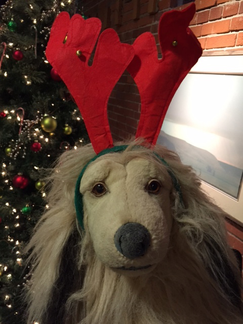 The Wendt Mascot festive for the holidays