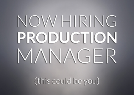 wendt-hiring-production-manager