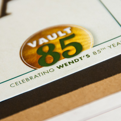 Vault 85 - Celebrating the 85th anniversary of The Wendt Agency