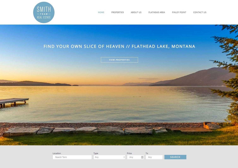 Smith Team Real Estate Website
