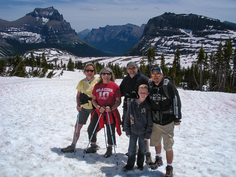 Stein family hike