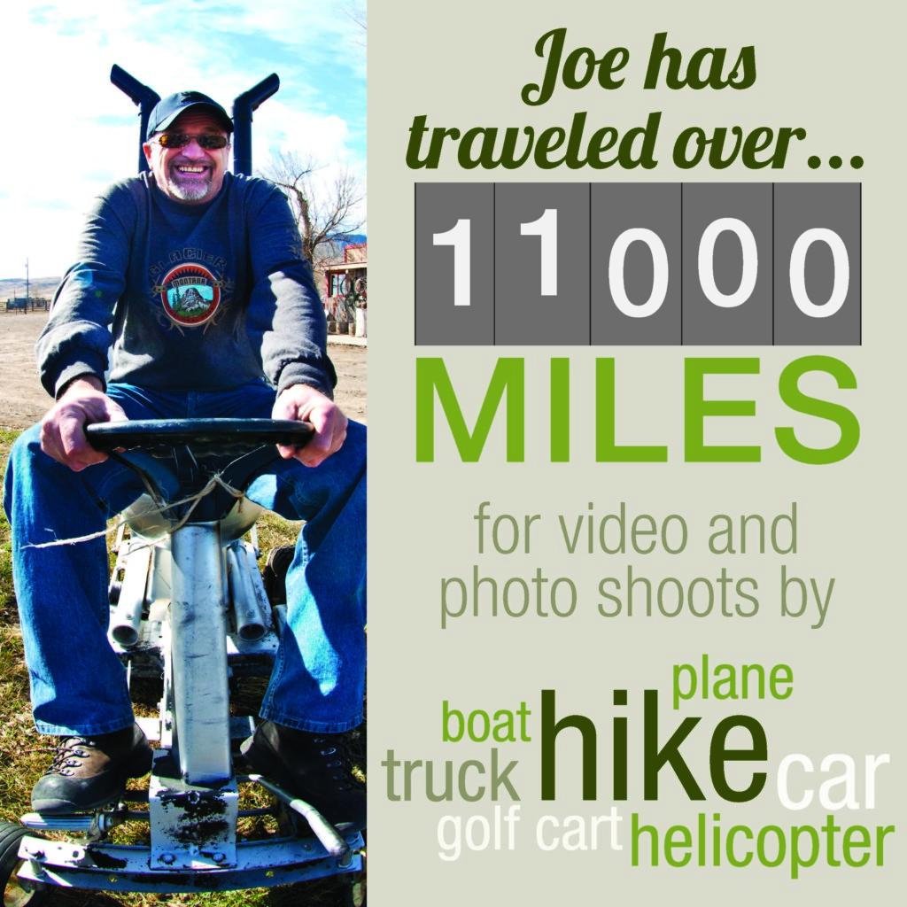 Creative Director Joe Stein travels