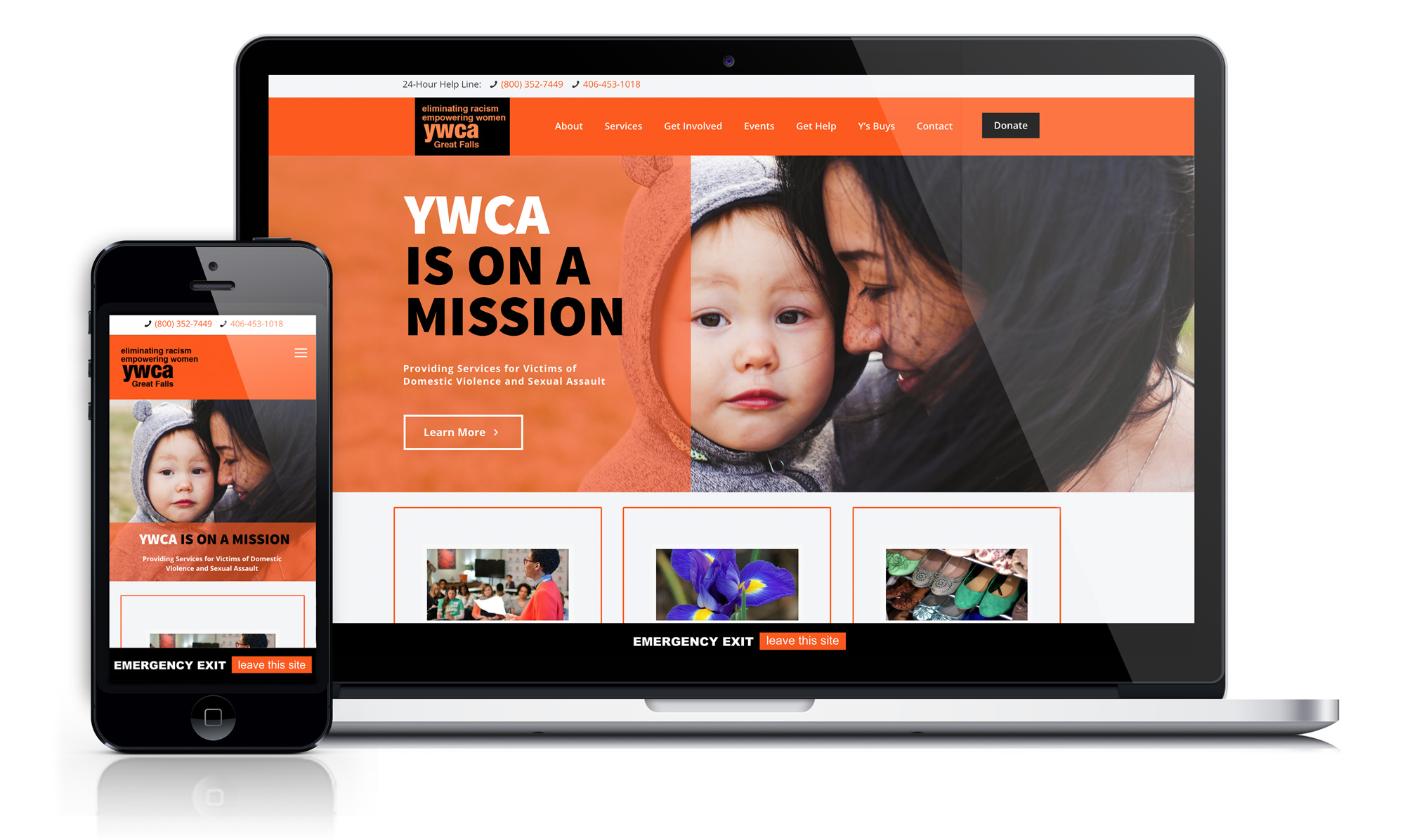 Responsive-YWCA-Web