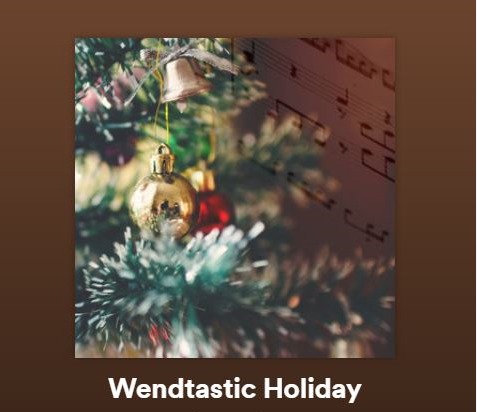 Wendtastic Holiday