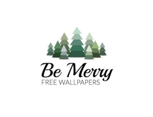Be Merry: Free Wallpapers