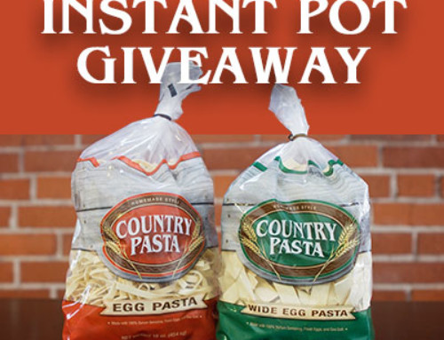 Country Pasta – Instant Pot Giveaway