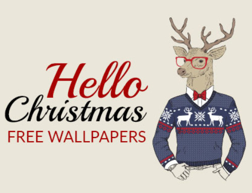 Hello Christmas: Free Wallpapers