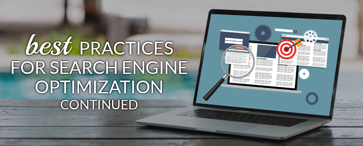 Best practices for search engine optimization