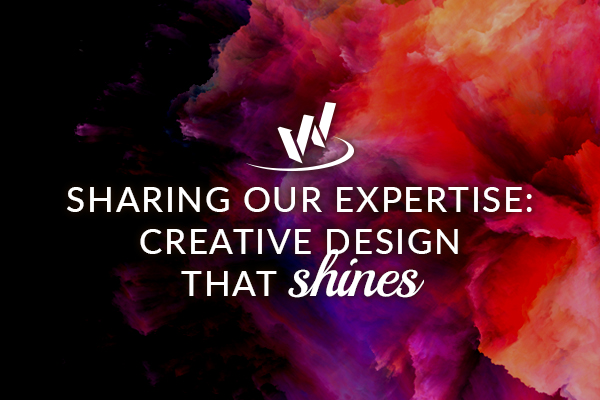 Sharing our expertise: Creative design that shines
